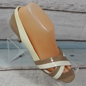 Franco Sarto Open Toe Heeled Shoe Size 8 M